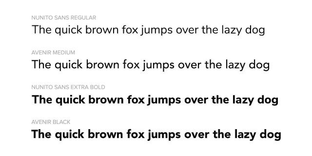 Google Fonts Similar to Avenir | Fonts Plugin
