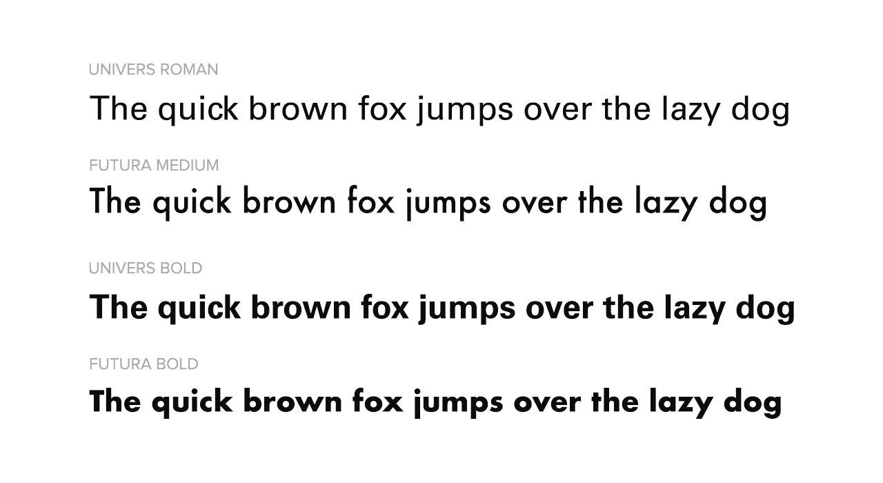 Google Fonts Similar to Univers | Fonts Plugin