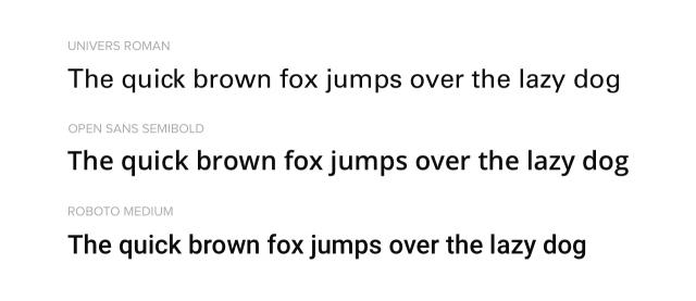 Google Fonts similar to Univers